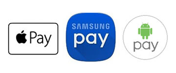Apple, Samsung & Android Pay