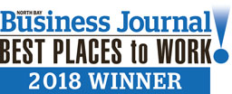 North Bay Business Journal, best places to work 2018 winner