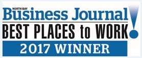 North Bay Business Journal, best places to work 2016 winner