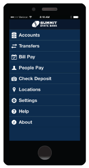 Summit State Bank Mobile Banking