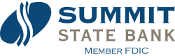 Summit State Bank Member FDIC Logo